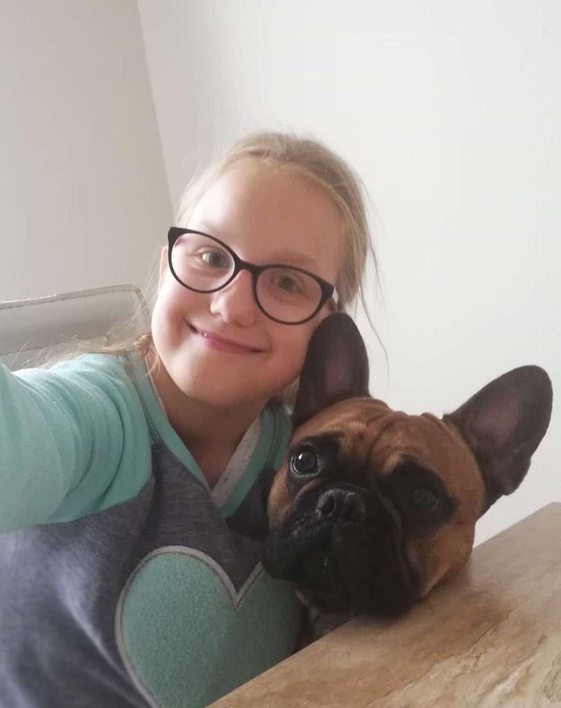 """Oliwia Mastalerz podopieczna Fundacji ,,Przyszłość dla Dzieci"""""""