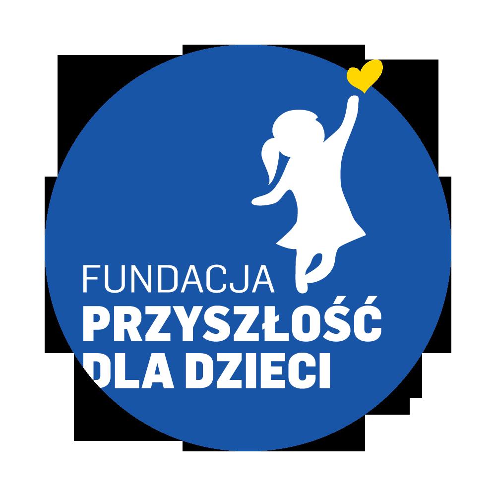 """Logo Fundacji """"Przyszłość dla Dzieci"""""""