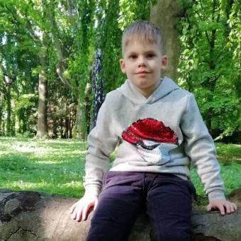 """Julian Bazydło podopieczny Fundacji ,,Przyszłość dla Dzieci"""""""