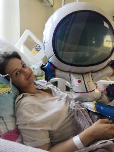 Ada w szpitalu