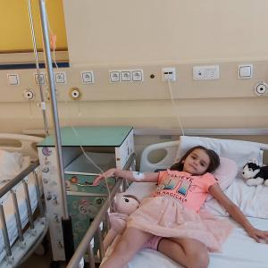 Aniela w szpitalu