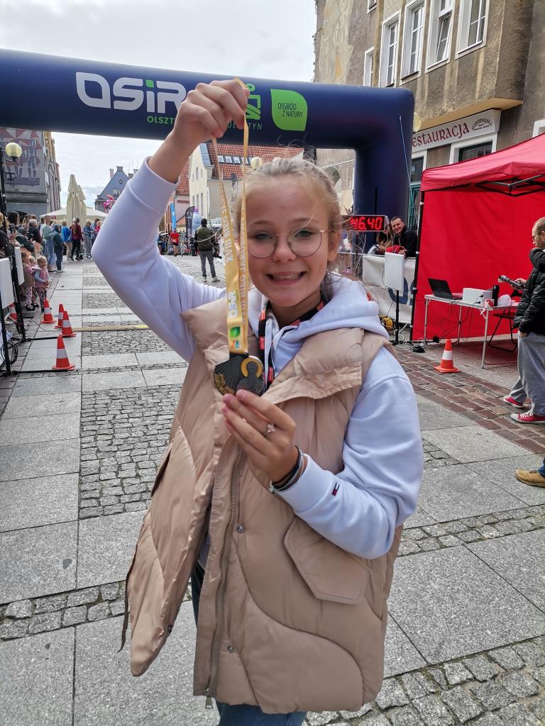 dobroczynny bieg w Olsztynie
